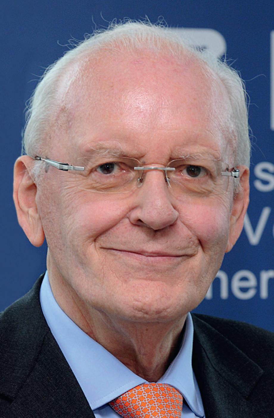 Dr. Roman Herzog, Schirmherr des Deutschen Instituts für Vertrauen und ...