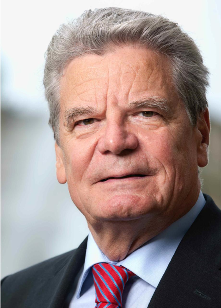 Joachim Gauck, Patron of Deutsches Institut für Vertrauen und Sicherheit im ...