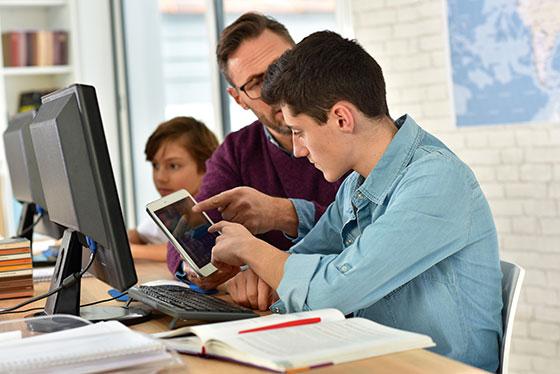 Unterricht: Die Lernziele der Jugendlichen unterscheiden sich vom Schulangebot.