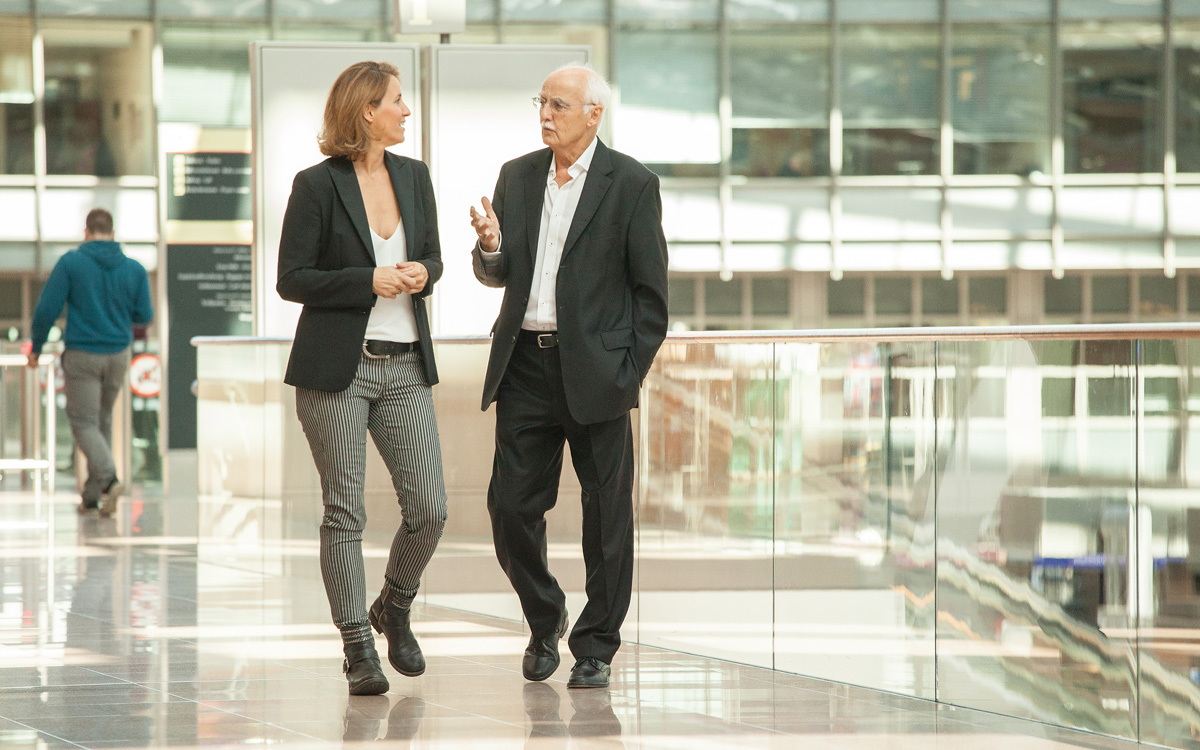 Prof. Dr. Horst W. Opaschowski und Irina Opaschowski