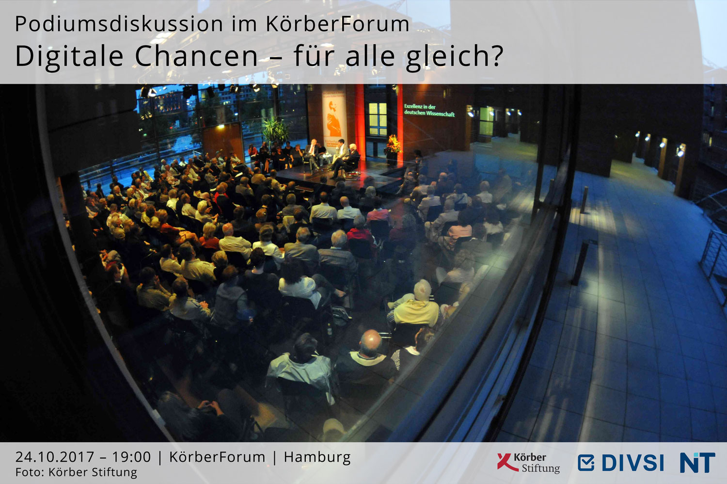Podiumsdiskussion KörberForum