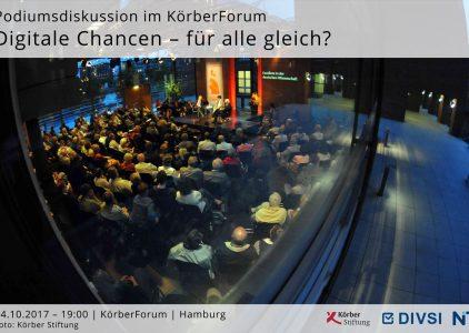 Podiumsdiskussion KörberForum