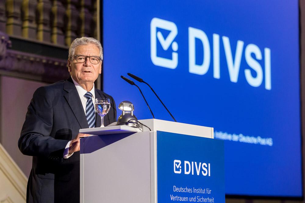 Bundespräsident a. D. Joachim Gauck