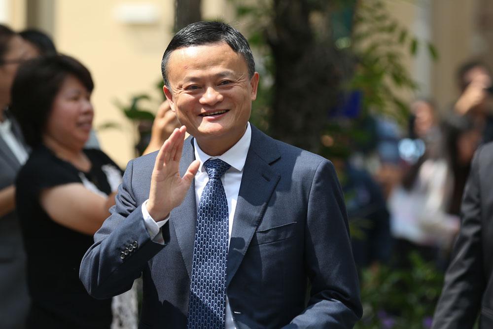 Abschied von Jack Ma